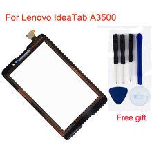 Zwart Voor Lenovo IdeaTab A3500 A3500-F A3500-H A3500-HV A7-50 Digitizer Touch Screen Panel Sensor Glas Vervanging(China)