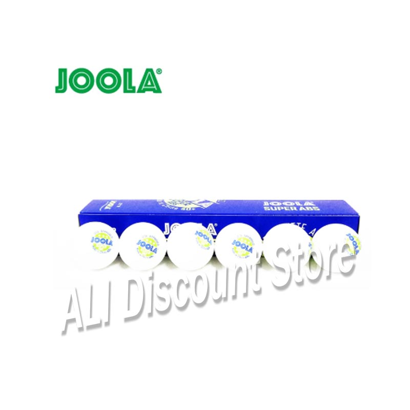 New 12 Balls JOOLA 3-Star SUPER ABS Table Tennis Ball ITTF Approved New Material Plastic 40+ Seam Ping Pong Balls