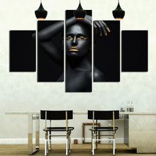 Художественный постер с изображением персонажей из 5 предметов