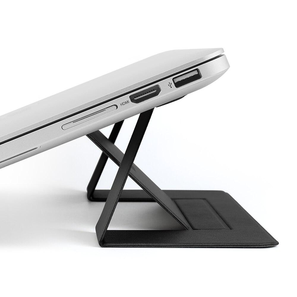 Memumi invisível portátil suporte adesivo ajustável suporte