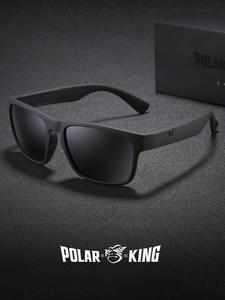 Polarized Sunglasses Driving-Eyewear Square Fashion Brand Men Plastic for Oculos-De-Sol