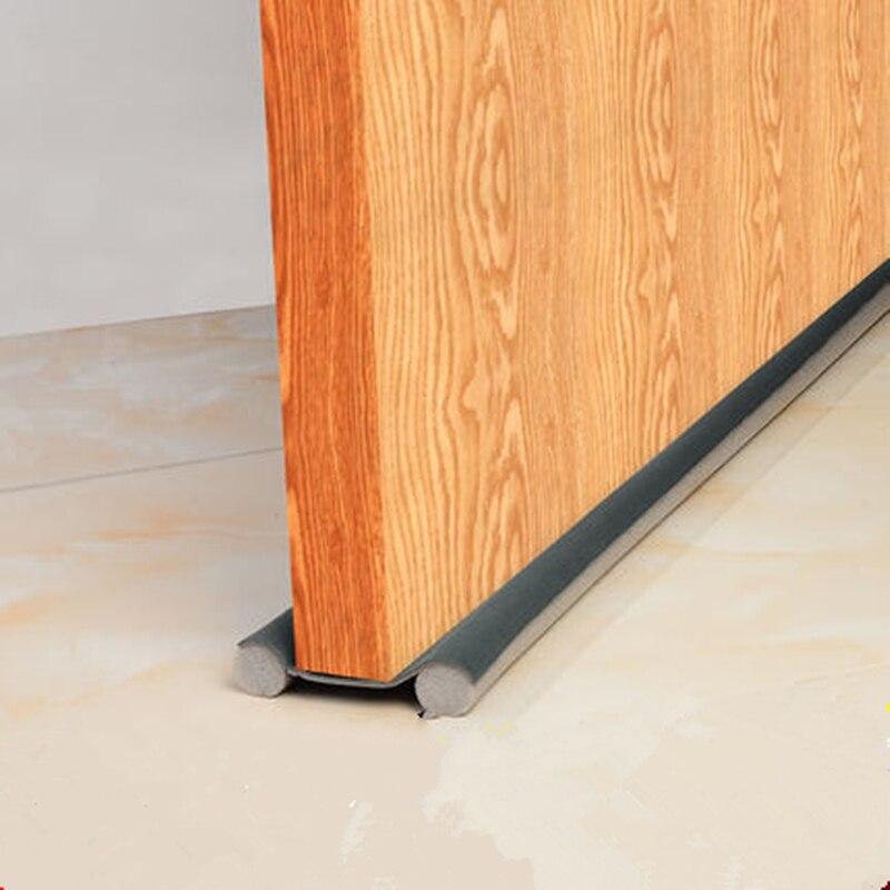 93cm fácil de instalar tira de vedação da porta weatherstrip à prova de vento tira de som de controle de insetos porta gap selo casa ferragem