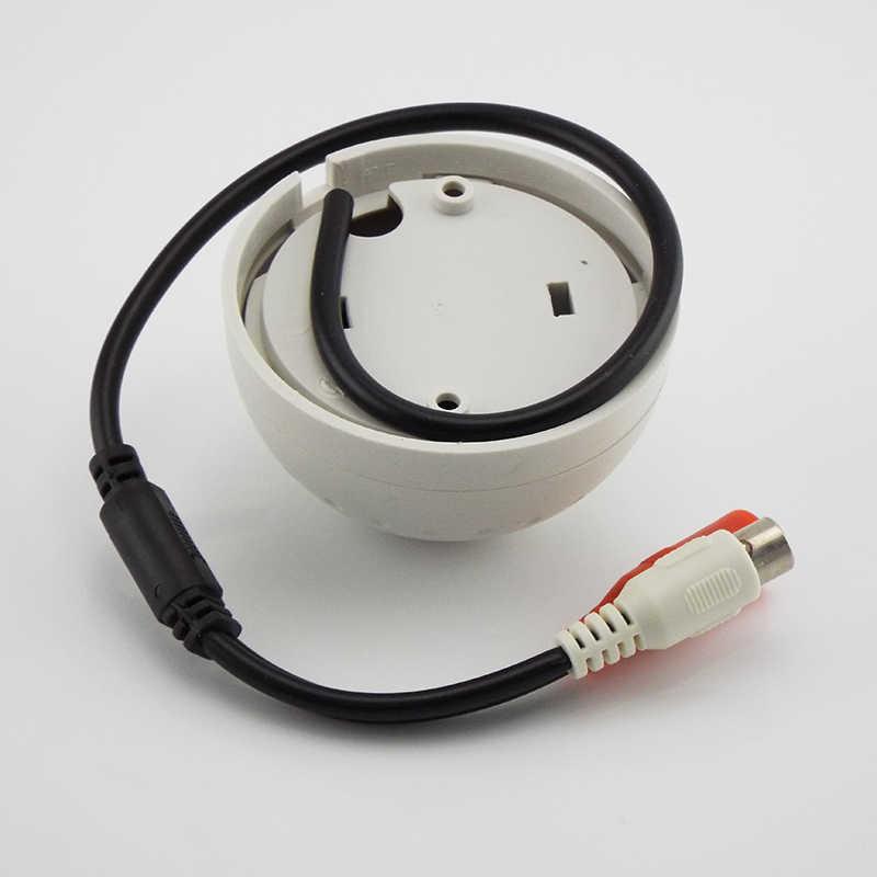 تيار مستمر 9 فولت-12 فولت جهاز الاستماع صوت صغير رصد الصوت مراقبة الصوت ل CCTV IP كاميرا فيديو مراقبة نظام الحماية المنزلي