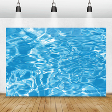 Laeacco Seabed Blue Water Swimming Pool Underwater World Photography Backgrounds Birthday Backdrops Photophone For Photo Studio