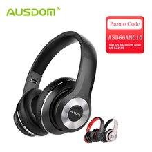 AUSDOM – écouteurs sans fil Bluetooth 5.0, antibruit actif, stéréo HiFi, 30 heures d'autonomie, ANC10