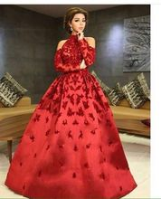 Hot Sale Wine Red Matt Satin with Lace Appliques Prom Evening Dresses 2017 hot sale sperm count board with red ruby