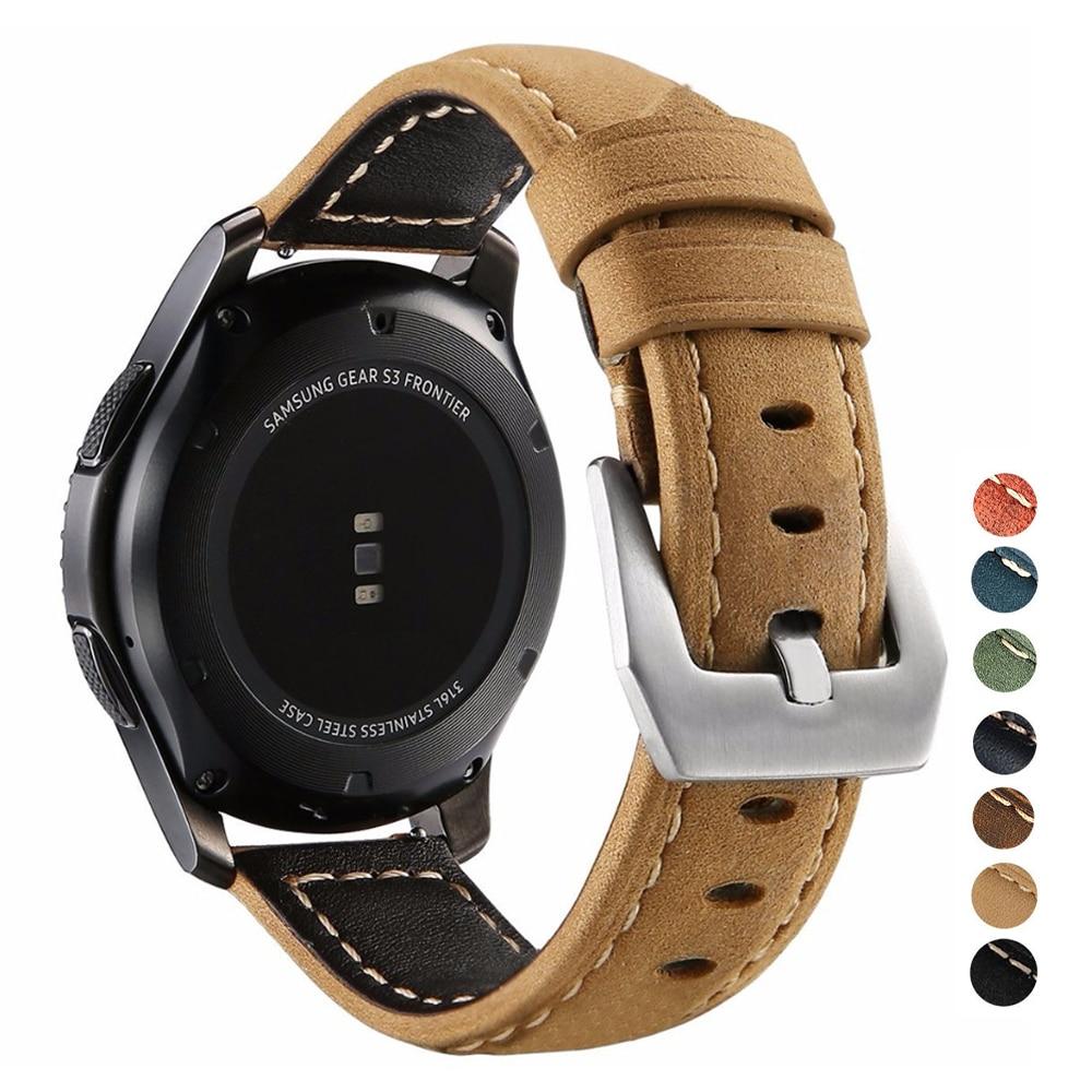 Hauwei Watch Gt 2 Strap For Smsuang Galaxy Atcive 2 Strap Garmin Venu Vivoactive 3 20/22mm Watch Band Bracelet Gear S3 Frontier