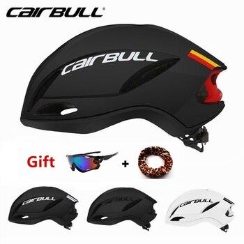 Alta qualidade ciclismo capacetes cairbull aerodinâmica velocidade de corrida da bicicleta estrada capacete pneumático esportes capacete da bicicleta casco ciclismo 1