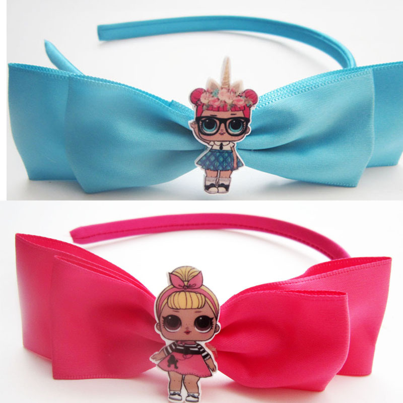 Baby Girls Bow Hair Clip 2019 Hot Baby Girls DIY LOL Hair Clips Barrettes Headwear Hairpins Headbands Female Hair Accessories