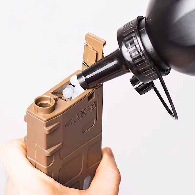 Tactical 2000 Rounds Airsoft Speed BB Loader Expandable Bottle Military Airsoft Shooting BB Balls Equipment Paintball Accessory