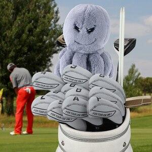 Image 2 - Artigiano Golf Sacca Driver Animale HeadCover Octopus Giocattoli Driver 460cc Della Copertura per golf clubs Copertura In Legno