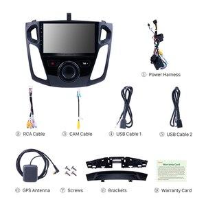 Image 5 - Seicane 9 Pollici Android 9.0 Lettore Multimediale Autoradio Per Il 2011 2012 2013 2015 Ford Focus Stereo Supporto Bluetooth WIFI USB OBD2