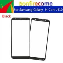 "10pcs \ lot Touchscreeen สำหรับ Samsung Galaxy J4 Core J410 J410F J410DS J410G ด้านหน้าด้านนอกกระจกหน้าจอเปลี่ยนเลนส์ 6.0"""