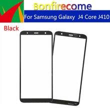 "10pcs \ lot Touchscreeen Samsung Galaxy J4 Çekirdek J410 J410F J410DS J410G Ön Dış Cam dokunmatik ekran lensi Değiştirme 6.0"""