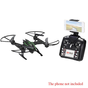 Original JXD 510W 2.4G 4CH 6-Axis Gyro Wifi FPV 0.3MP Camera RTF RC Quadcopter with One-key Return CF Mode 3D-flip