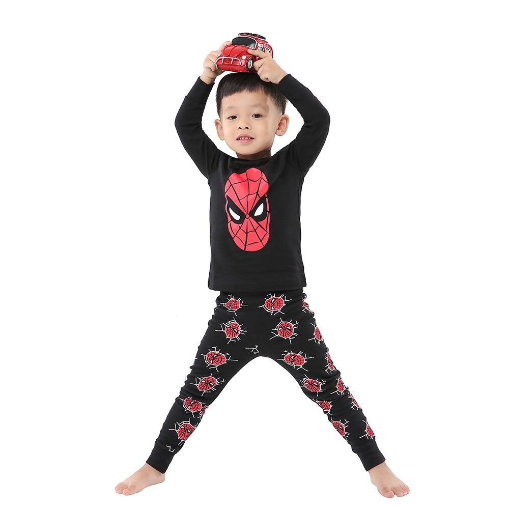 100 Cotton Full Sleeve Cotton Boys Sleepwear Kids Airplane Pyjamas Children Baby Girls Pajamas Pijama Unicornio Infantil Pijamas 5