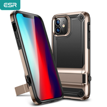 ESR Luxury Case for iPhone 12 Pro Heavy Duty Kickstand Phone Case for iPhone 12 Back Cover Shockproof Protective Case with Stand