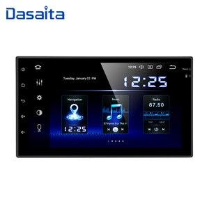 Image 1 - Dasaita Radio Multimedia con GPS para coche, Radio con reproductor, Android 10, 7 pulgadas, 2 Din, Universal, Octa Core, 4GB RAM, 64GB rom, estéreo para coche, navegación