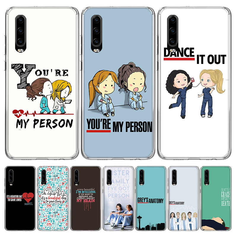 Greys Anatomy Phone Case for Huawei P40 P30 P20 Mate 30 20 10 Pro ...