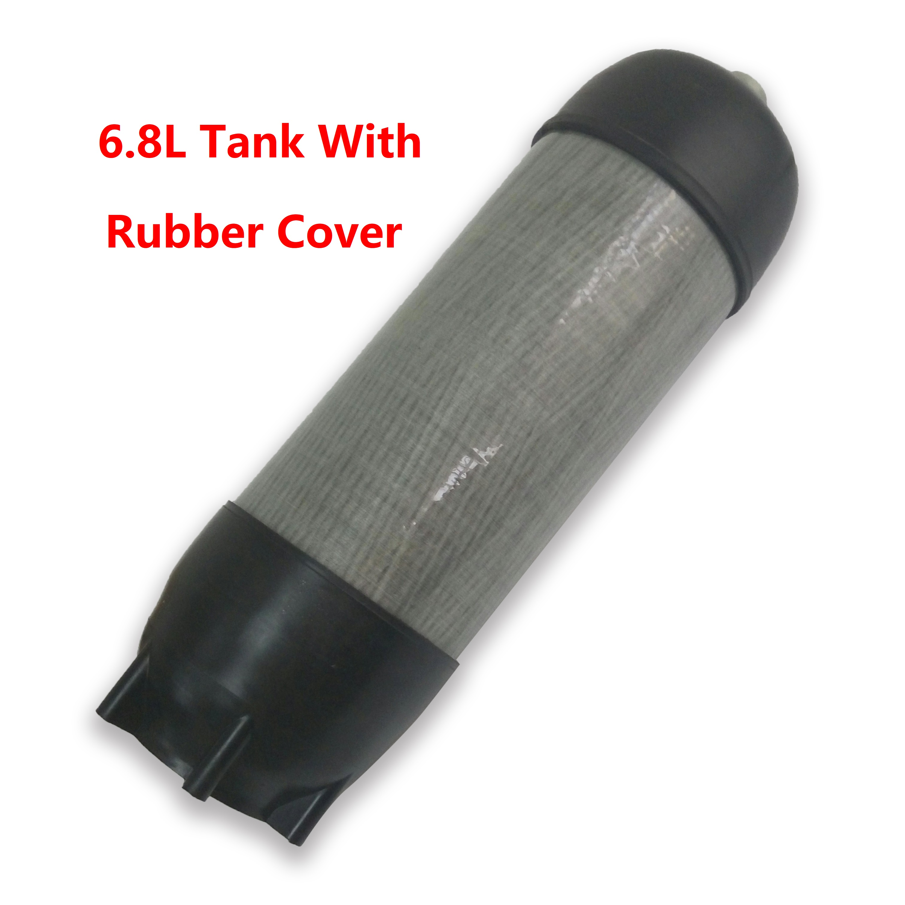 AC16891 6.8L Hpa Scuba Pcp Rubber Cover With CE Cylinder Pcp Mini Diving/Hunting Cylinder Paintball Bottle Cover Acecare