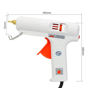 Image 3 - NICEYARD Hot Melt Glue Gun Temperature Adjustable Heating Up Muzzle Diameter 11mm Constant Temperature Craft Repair Tool