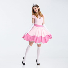 Anime  Snow White Cosplay Costume Halloween Bar Nightclub Fairy Tale Service Festival Game Show