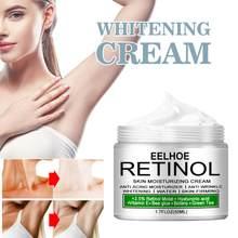 Crema blanqueadora corporal, crema blanqueadora para axilas, piernas y rodillas, 50ml/30ml/20ml/10ml