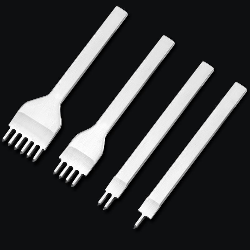Дыроколы MIUSIE диаметром 3/4/5/6 мм, инструменты для работы с кожей ручной работы с 1/2/4/6 зубцами и алмазной точкой, 1 шт.