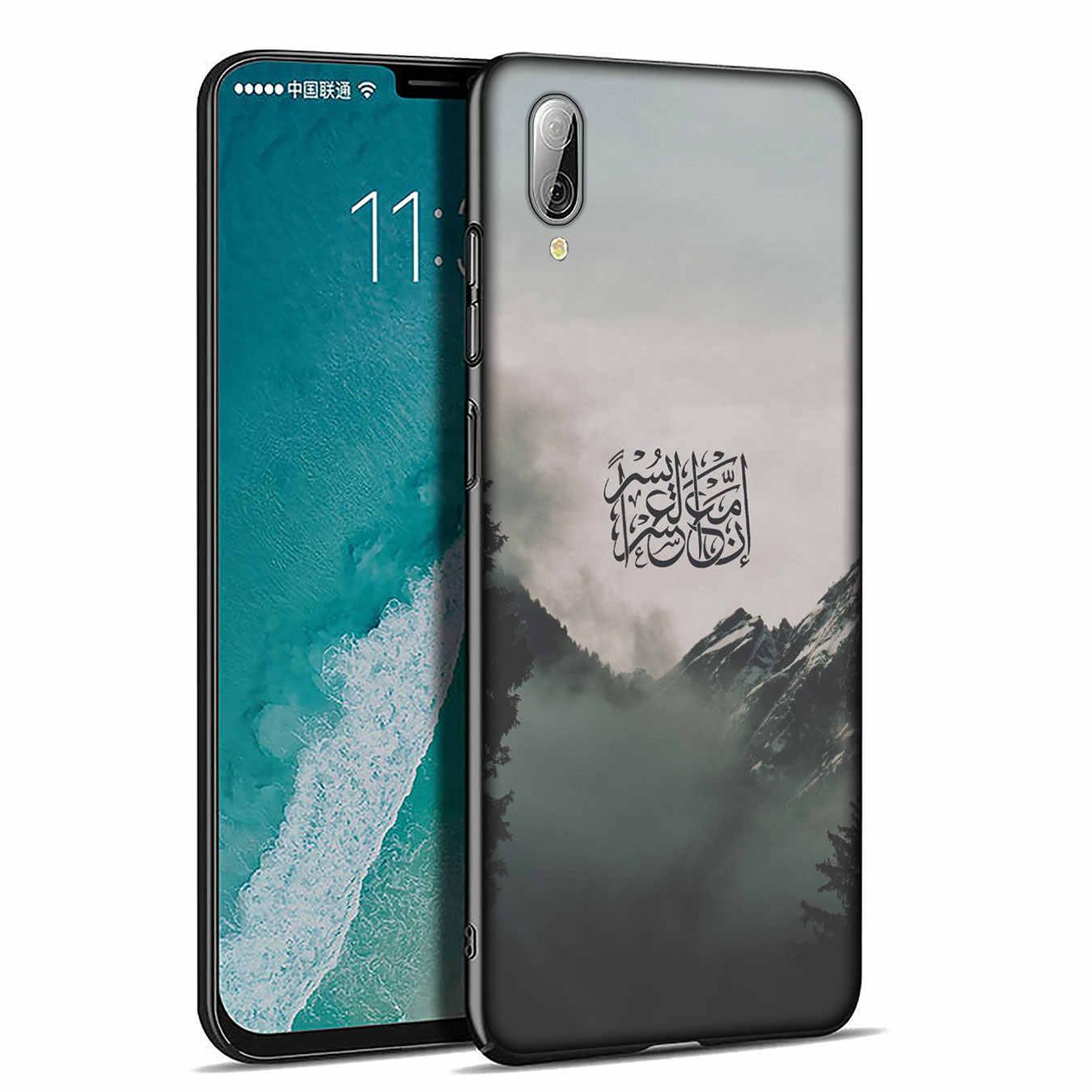ערבית קוראן אסלאמי מוסלמי רך סיליקון טלפון מקרה עבור Xiaomi Redmi K20 ללכת 8A 7A 6A 5A 4A 4X הערה 8 7 6 פרו 5 בתוספת כיסוי