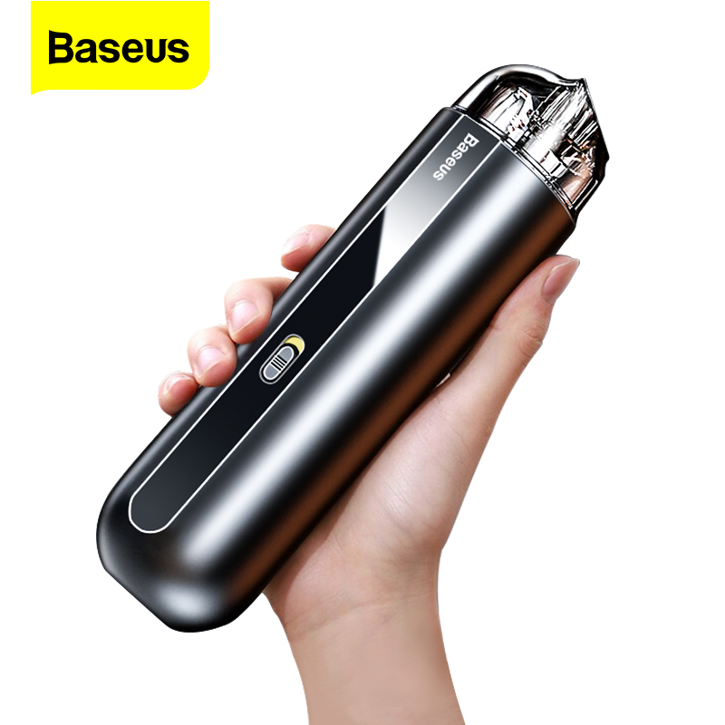 Baseus Portable Car Vacuum Cleaner Wireless 5000Pa Rechargeable Handheld  Mini Auto Cordless Vacuum Cleaner for Car Vacum Vaccum|Vacuum Cleaner| -  AliExpress