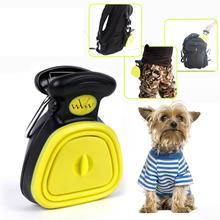 Переносная Складная ложка для собак и питомцев, совок для уборки, средство удаления экскрементов,, 1 рулон, Удобные сумки