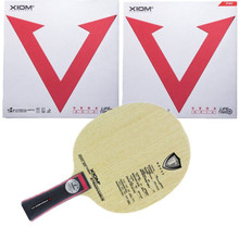 Table-Tennis-Blade Xiom Stradivarius Vega-Asia Viscaria Rubbertable Original Sports Like