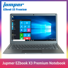 Jumper EZbook X3 Premium Notebook IPS Display Thin Metal Body Laptop Intel N3450 8GB 128GB eMMC 2.4G/5G WiFi Win10 13.3