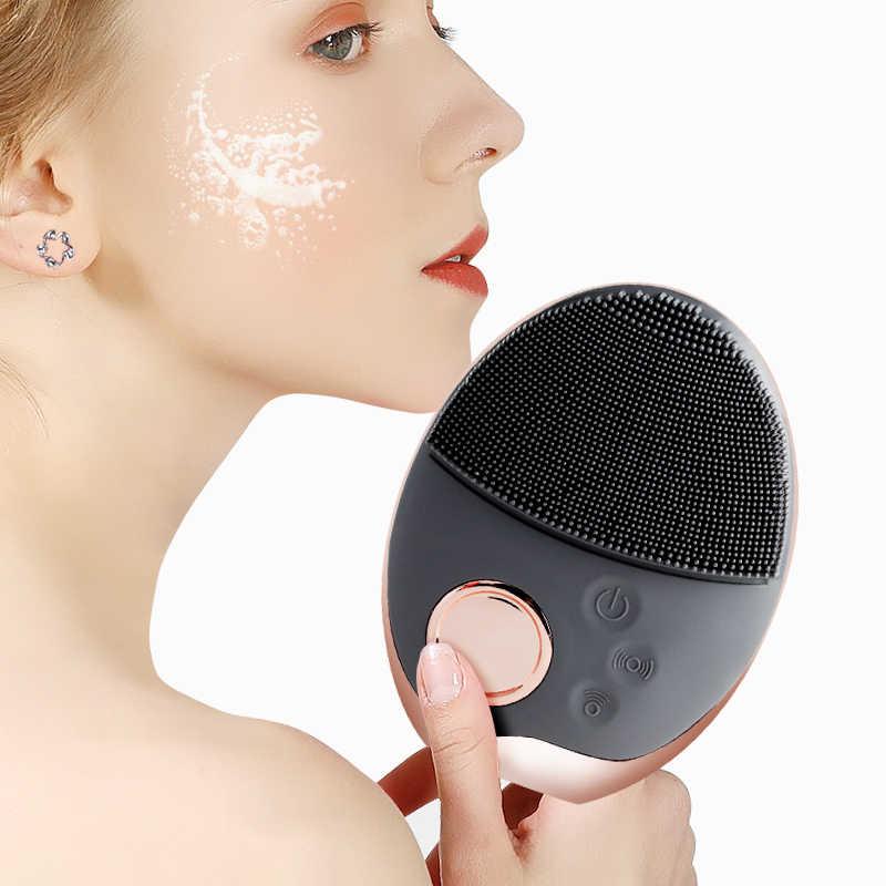 洗顔ブラシ超音波洗顔ブラシ Elactric ワイヤレス顔ブラシ肌面マッサージ