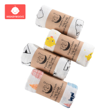 120X120cm Muslin 100% Cotton Baby Swaddles Soft Newborn Blankets Bath Gauze Towel Infant Wrap sleepsack Stroller Cover Bedding
