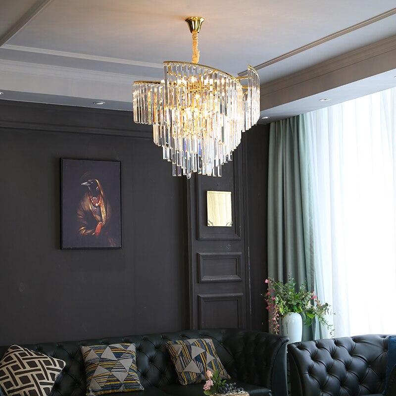 Manggic Modern Luxury Crystal, Crystal Chandelier Bedroom Lighting