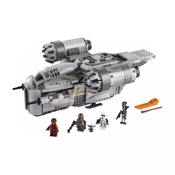 The Ucs Razor Crest By Model Compatible With Star Toys &wars Building Blocks Bricks Kids Christmas Toys Gifts moc 13289 star wars series cavegod ucs sandcrawler destroyer model building blocks rc bricks compatible starwars 05038 kid toys