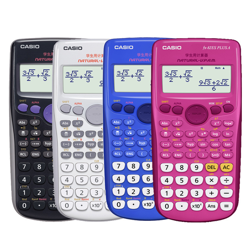 Casio FX-82ES Plus Scientific Function Calculator Student For Note Will Test Calculator