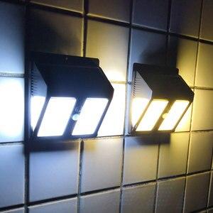 Image 1 - Wireless Solar Powered 35 LED Solar Light Waterproof IP65 PIR Motion Sensor Outdoor Fence Garden Light Pathway Solar  Wall Lamp