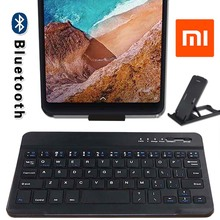 Slim Wireless Bluetooth Keyboard for Xiaomi Mi Pad 2 / Mi Pad 3 / Mi Pad 4 Tablet Rechargeable Keyboard for Android Ios Windows