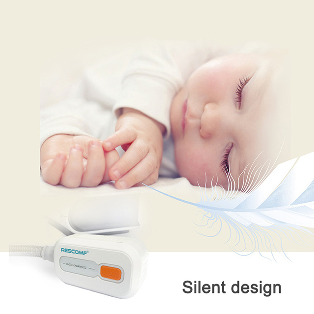 Ventilator Auto CPAP BPAP Cleaner Disinfector 2200mAh Sleep Apnea Anti Snoring  easy to carry JS88 2