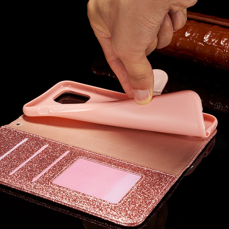 Bling Glitter Leather Case for iPhone 11/11 Pro/11 Pro Max 7