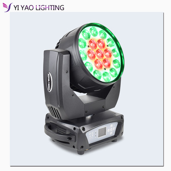 цена led wash zoom 19x15w rgbw moving head light zoom moving head new moving head wash light онлайн в 2017 году