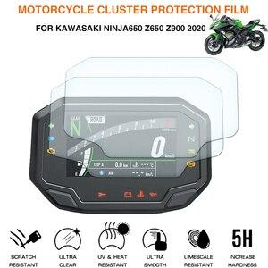 For Kawasaki Ninja650 Z650 Z900 2020 Cluster Scratch Protection Film motoecycle Screen Protector Instrument Speedometer Film(China)