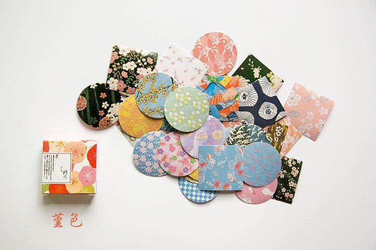 40 шт./упак. милые цветы шаблон Decoracion дневник рождественские Стикеры s Скрапбукинг стикер для канцелярских товаров принадлежности для студентов - Цвет: 9