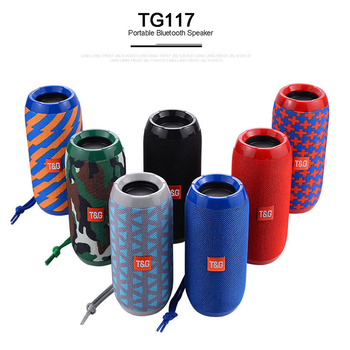 TG117 Portable Speaker Wireless Bluetooth Speakers Soundbar Outdoor Sports Waterproof column Music center system caixa de som pc