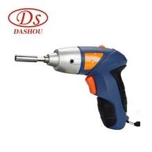 DS 24pcs DIY Rechargeable 4.8v Electric Drill Electric Screwdriver Set Mini Power Tools Home Mini Drill 200rpm