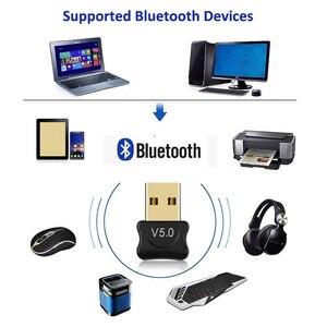 Image 3 - ミニ USB アダプタ USB ドングルワイヤレス USB Bluetooth トランスミッタ BT 5.0 音楽受信機の Bluetooth アダプタコンピュータ PC