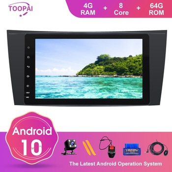 TOOPAI Android 10 For Mercedes Benz E W211 CLS W219 G-Class W463 W209 Auto Radio Head Unit GPS Navigation Multimedia Player 8 image