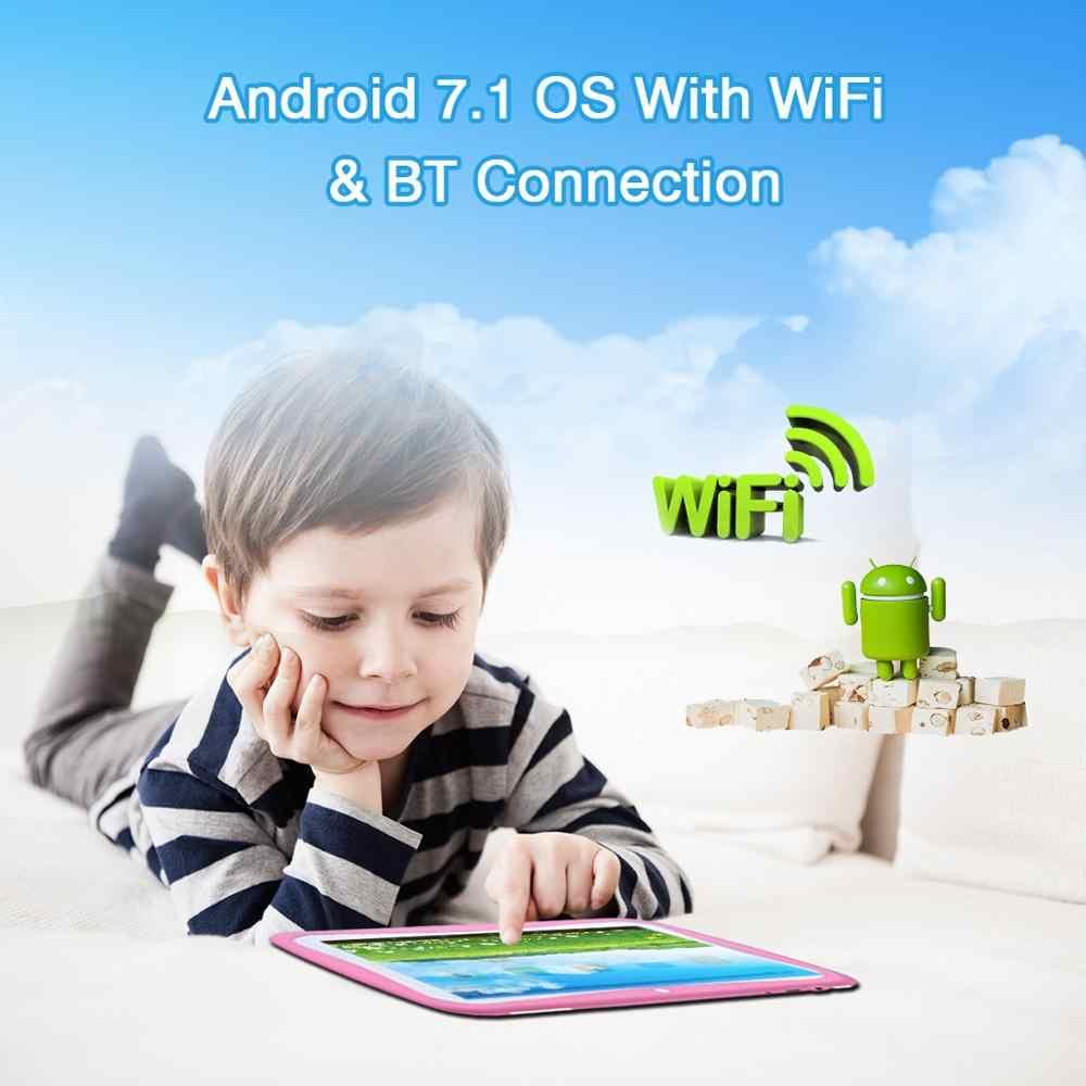 Горячие продажа новые 7 дюймов планшетный пк 8 г оригинальный дизайн Android 7,0 4 ядра Android wi-fi Bluetooth ips Планшеты 7,1
